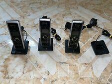 3x VTech TELEKOM Sinus PA 302i plus 1 Telefone + Ladeschalen + Ladegeräte ISDN