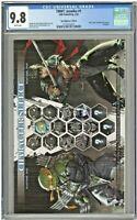 TMNT Jennika 1 CGC 9.8 Ngu Nightmare Edition Cover Teenage Mutant Ninja Turtles