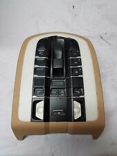 10-15 Porsche Panamera 970 Overhead Dome Light Roof Console Switch Panel OEM