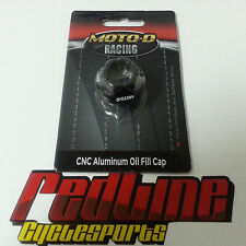 Moto-D Pre drilled oil filler cap #5 for safety wire  Moto D R6 R1 R3