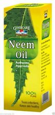 Pure Neem Oil Azadirachta Indica Infections Itching Parasites Psoriasis Acne Dan