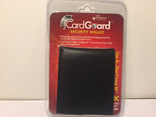 CARDGUARD SECURITY MENS LEATHER WALLET
