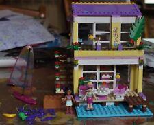 Lego Friends 41037 La villa sur la plage Stephanie's Beach House avec notice
