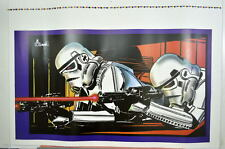 Star Wars STORM TROOPERS COLOR GUIDE PRINT HAND SIGNED by Al Williamson