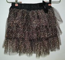 Hot Topic, TUTU, Leopard Print, Black Bow, One Size