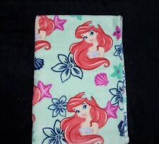 "Disney Baby Little Mermaid Ariel Blanket Super Soft Plush Security Lovey 30x40"""