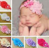 Kid Baby Girl Flower Headband Infant Toddler Hair Sweet Bow Band Accessories hs0