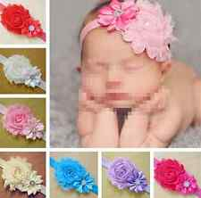 Lots 7pcs Kid Baby Girl Flower Headband Infant Toddler Hair Bow Band Accessories