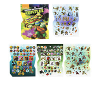 TMNT Sticker Book 8 Sheets ~ Birthday Party Favors Teenage Mutant Ninja Turtles