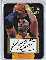 Kobe Bryant Custom Supreme Cuts Sample Card..