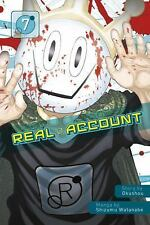 REAL ACCOUNT 7 - OKUSHOU - NEW PAPERBACK BOOK