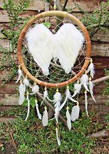 FairTrade Hand Made X Large Angel Wings Dream Catcher Dreamcatcher Wall Hanging