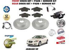 Para Jaguar XF 3.0S 3.0D 5.0 2009- > Delante + Trasero Juego de Discos + Set