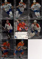 1999-00 BAP ITG Millennium Signatures Montreal Canadiens Silver Team Set (8)