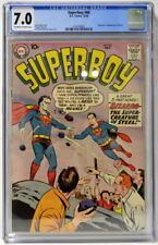 SUPERBOY #68 CGC 7.0 1958 Silver Age Key DC Origin & 1st App BIZARRO