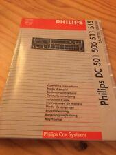 Philips DC 501 505 511 515 autoradio notice utilisation mode d' emploi éd. 92