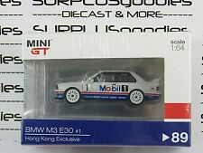 TSM Model Mini-GT 2020 Hong Kong Exclusive 1992 BMW M3 E30 Mobil 1 Macau Winner