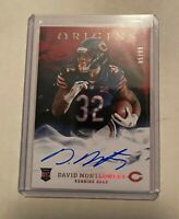 2019 Panini Origins Red Rookie Auto David Montgomery 85/99 Bears Autograph!!!