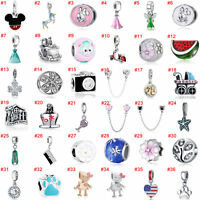 European Silver Beads Pendant Fit dangle Charms 925 sterling Chain Bracelet xmas