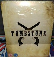 [Blu-ray] Tombstone Steelbook - VF NON INCLUSE - RARE - TRÈS BON ÉTAT