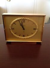 BUCHERER IMHOF VINTAGE CLOCK FROM 1974   15 JEWELS