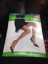 Absolutely Bare Hanes Tights Black Size Ed