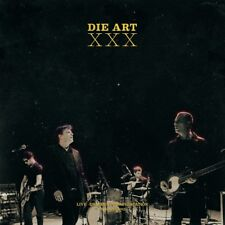 DIE ART - XXX-LIVE,DRESDEN,GROOVESTATION,18./19.12.2015  2 CD NEU