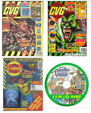 CVG Computer & Video Games 133 PDF Issues DVD Retro Gaming Magazine on 2 DVDs