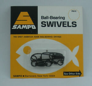 Sampo BRX5CB Double Solid Ring and Coastlock Snap Swivel 165 Lb. Test 2CT 26335