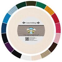 Country Brook Design® 3//8 Inch Harvest Chevron Polyester Webbing 10 Yards