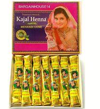 12 x BEST QUALITY HENNA Fresh Quality Natural Henna Mehndi Cones *NO CHEMICALS*