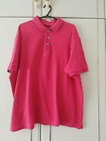MARKS & SPENCER BLUE HARBOUR MENS PINK SHORT SLEEVE TOP POLO SHIRT SIZE LARGE