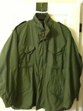 M65 FIELD JACKET X-LARGE LONG OG 107 COAT COLD WEATHER