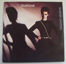 "SHEENA EASTON ""Telefone""  SP 7"" 45T.   FRANCE 1983.  NEAR MINT"