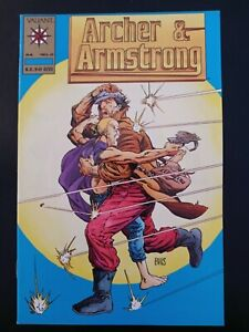 Archer & Armstrong 0 Gold VARIANT VF/NM 9.0 RARE Valiant **LOOK**