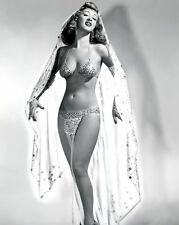 8x10 photo Winnie Garrett 5,1940s sexy celebrity burlesque queen