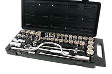 "Genuine Kamasa SS4849 Socket Set 1/2""D 42pc - Robust storage case included"