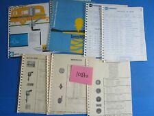 N°10840 / O.S SEIGNOL tableaux de bor / fiches motometer / catalogue NORMA  1962