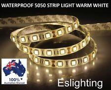 1M 12V 5050 LED STRIP LIGHT WATERPROOF FLEXIBLE WARM WHITE KITCHEN BENCH TOP