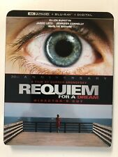 Requiem For A Dream (2000) - 4k Blu-ray Slipcover Only - No Blu-rays