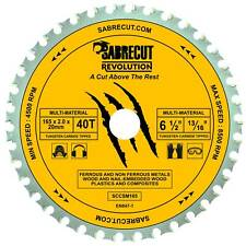 SabreCut 165mm Multi-Material Circular Saw Blade For Bosch, Wood Metal Plastics