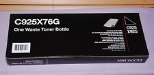 Genuine Lexmark C925X76G Waste Toner Bottle for C925 & X925 - New Sealed
