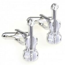Musical Viola Violin Cufflinks