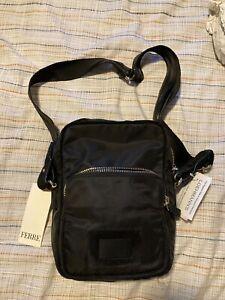 NWT Gianfranco Ferre Nylon Crossbody Shoulder Bag Fanny Back Pack Travel