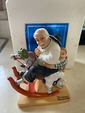 """Gramps At The Reins"" Figurine - Norman Rockwell - The Danbury Mint"