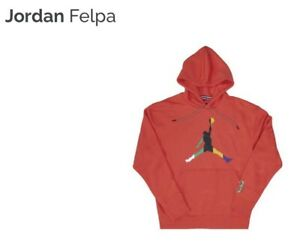 Jordan Men's Nike Hoodie Medium Track Red