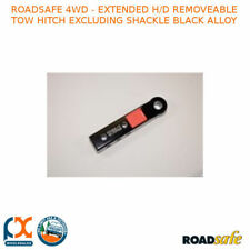Roadsafe 4wd - Extended H/D Removeable Tow Hitch Excluding Shackle Black Alloy