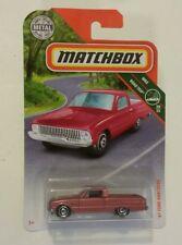 MATCHBOX 2018 '61 Ford Ranchero MBX Road Trip