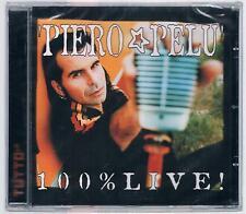 PIERO PELU' 100% LIVE! CD PROMO TUTTO SIGILLATO!!!