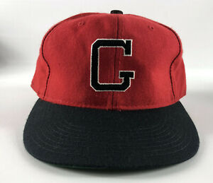 Georgia Bulldogs New Era Pro Model Baseball Hat Red Black 'G' - Vintage 1990s